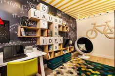 2015 interior design trends - Surprising wall decor ideas, letters, creative shelves and unusual wall decorations.