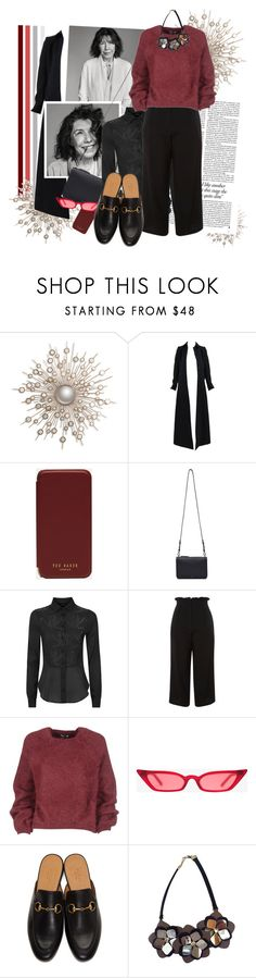 """""""Age is just a number."""" by fashionicious ❤ liked on Polyvore featuring Alaïa, Victoria Beckham, Ted Baker, Cuero&Mør, La Perla, Topshop, Tom Ford, Gucci, Fendi and men's fashion"""