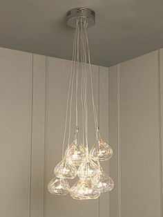 Linea Cosmo iridescent cluster pendant - House of Fraser