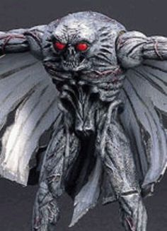 Mothman -  From approximately November 1966 through December 1967, dozens of people reported sightings of a huge, semi-human winged creature with glowing red eyes in and around Point Pleasant, West Virginia. At between 6.5 and 7 feet tall and with a wingspan of nearly 10 feet, the shadowy creature was reportedly able to fly great distances at speeds up to 100 miles per hour. All who encountered this menacing creature were terrified by their experience.