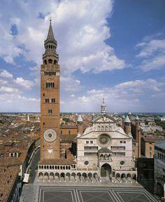 cremona italy | Il Torrazzo di Cremona - Foto: http://www.visual-italy.it