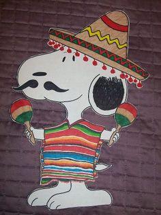 Snoopy de Mayo