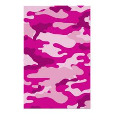Hot Pink Camouflage Scrapbook Crafting Paper, I like this pattern