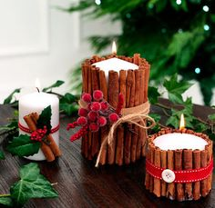 to make a cinnamon candle How to make a cinnamon candle. For instructions, click the picture or visit .ukHow to make a cinnamon candle. For instructions, click the picture or visit . Homemade Christmas Decorations, Handmade Christmas Gifts, Christmas Candles, Rustic Christmas, Christmas Home, Christmas Crafts For Gifts For Adults, Christmas Decorations Diy Crafts, Christmas Cactus, Nordic Christmas