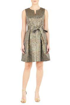 #eShaktisecretsanta I would boat the neck, make the skirt below knee length, add sleeves and side zipper.