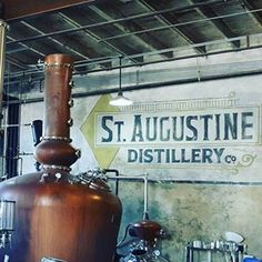 St. Augustine Distillery (and this with the Night of Lights Trolley Tour!)