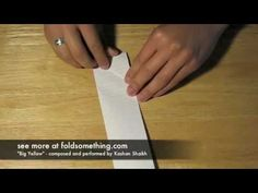 How to fold a paper football (video) and ideas for a Super Bowl or football themed party