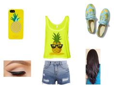 """Pineapple Day"" by powerkids ❤ liked on Polyvore"