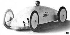 Walter Baker Electric Racer