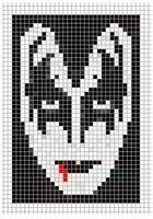 Рисунок Pixel Crochet, Crochet Motif, Cross Stitch Designs, Cross Stitch Patterns, Beading Patterns, Embroidery Patterns, Anime Pixel Art, Cross Stitch Boards, Perler Bead Art