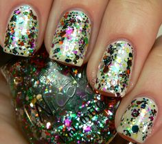 Rainbow in the S-Kylie  Nicole by OPI Kardashian Kolor Collection