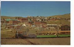 1963+ Narrow Gauge Railroad Cripple Creek Colorado Train Vintage Postcard