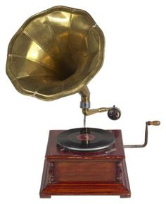 Old Fashioned Phonographs