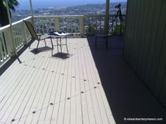 Looking over the whole city: Santa Barbara Deck Remodel