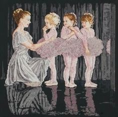 People - First Recital - Ballerina Cross Stitch Kit from Anchor