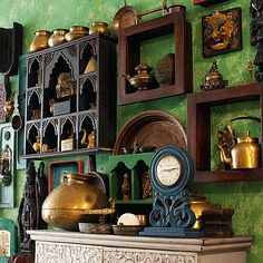 Gallery Wall - Selecting rare art from different parts of India to create unique scintillating pieces of decor… -