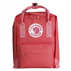 Fjällräven Kånken Kids peach pink backpack