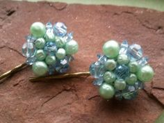 Vintage converted bobby pin by Tootsiejos on Etsy, $12.00