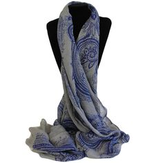 Scarves Wholesaler Gothic Swirls Blues - Gothic Scarves #Wholesale_Scarves #Scarves_Wholesale #Scarves_Swirls #Scarves_Blues_Vintage #Scarves_Gothic_Vintage