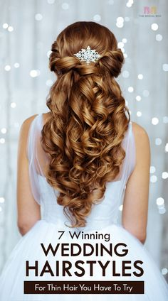 7 best winning wedding hairstyles for thin hair you have to try