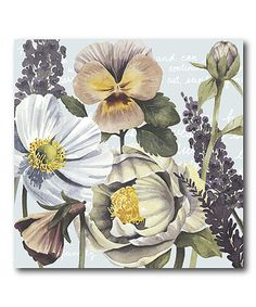 This Garden Submergence II Wrapped Canvas is perfect! #zulilyfinds