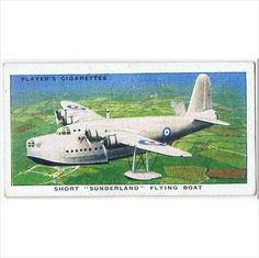 1939 Players Cigarette card 'Aircraft of the Royal Air Force' ~ no. 31 on #eBid United Kingdom