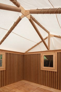 shigeru ban's disaster relief shelters go on view in sydney