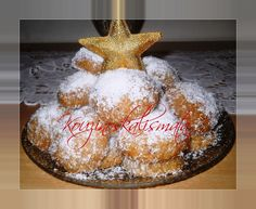 Greek Sweets, Greek Desserts, Greek Recipes, Xmas Food, Christmas Cooking, Christmas Deserts, Wedding Pillows, Sweets Cake, Food To Make