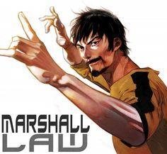 Marshall Law - Tekken via Pixiv