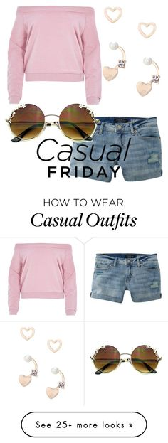 """""""casual Friday"""" by jaimie-lynn-1 on Polyvore featuring Aéropostale, River Island and Lipsy"""