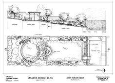 Best Landscape Plan Drawing 11  Pencil Photo, Images #LandscapeDesignPlans