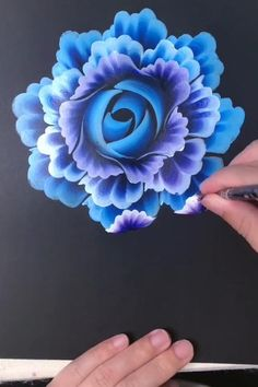 Canvas Painting Tutorials, Acrylic Painting For Beginners, Simple Acrylic Paintings, Acrylic Painting Techniques, Diy Canvas Art, Acrylic Art, Acrylic Painting Canvas, Painting Tools, Acrylic Painting Flowers