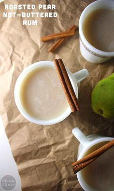 This fruity variation on not buttered rum features sweet, rich roasted pear puree.