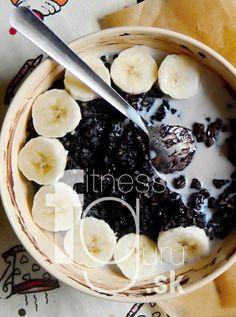 Krémovo-čokoládová kaša z pohánky Acai Berry, Truffle, Flan, Acai Bowl, Smoothie, Paleo, Baking, Breakfast, Pudding