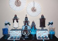 Chocolate and Blue~ Baby Boy Shower
