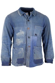 Vintage French worker jacket