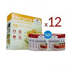 Wise Food 12 Month Emergency Supply of Food and Drinks ** Click image to review more details.(This is an Amazon affiliate link and I receive a commission for the sales)