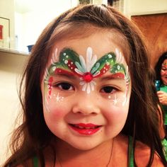 Twinkle Face Painting-Christmas Princess
