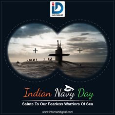 INFOMART Salutes the Brave Personnel who put everything aside to protect our motherland. They Defend us in times of Peace, Times of War & Crisis. Indian Navy Day, Navi Mumbai, Brave, War, Times, Digital