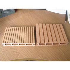 Lovely Laminated Wooden Flooring、wood Plastic Outdoor Patio Flooring