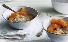 "Roast Pumpkin with Cheese ""Fondue"""