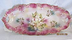 R.S. Prussia Celery of Jewelry dish