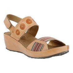 Women's L'Artiste by Spring Step Bazooka Quarter Strap Sandal (Euro Women's 35 (US Wms ) M (Regular))