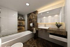 modernes badezimmer edel