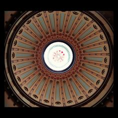 The Rotunda of the historic #Ohio Statehouse in #Columbus