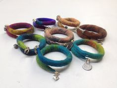 Arlenesfelt: Flexible Felt Bracelets