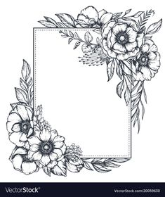 Flower Borders Coloring Pages Flower Coloring Pages Printable