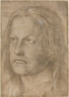 Albrecht Dürer's silverpoint drawing of his brother, Hanns, 1510