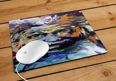Einstein Painting Mousepad | Aneend