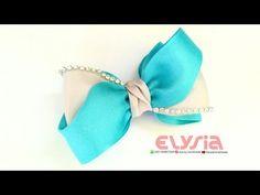 How To Make Beautifull Diamond Bow | DIH by Elysia Handmade - YouTube